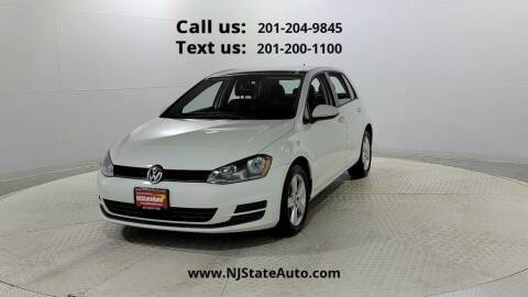 2017 Volkswagen Golf for sale at NJ State Auto Used Cars in Jersey City NJ