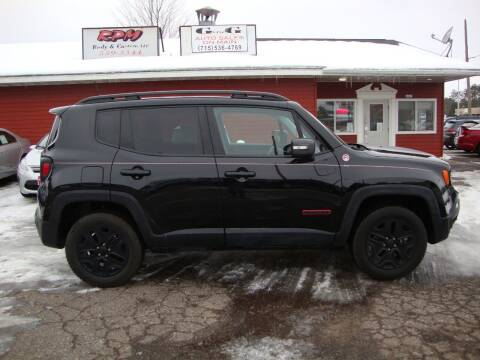2018 Jeep Renegade for sale at G and G AUTO SALES in Merrill WI