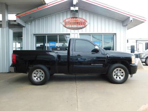 2010 Chevrolet Silverado 1500 for sale at Motorsports Unlimited in McAlester OK