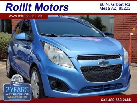 2013 Chevrolet Spark for sale at Rollit Motors in Mesa AZ