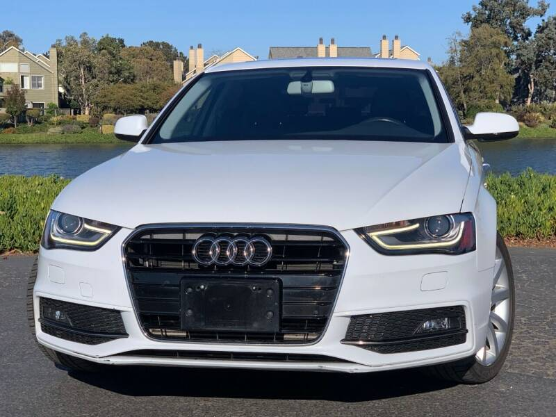 2014 Audi A4 for sale at Continental Car Sales in San Mateo CA