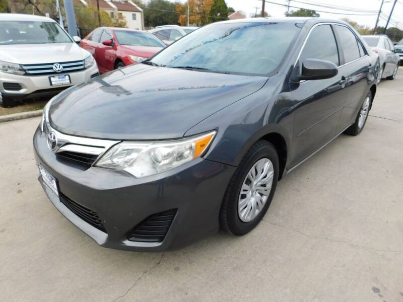 2013 Toyota Camry for sale at AMD AUTO in San Antonio TX
