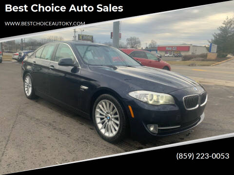 2011 BMW 5 Series for sale at Best Choice Auto Sales in Lexington KY