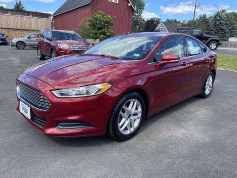 2015 Ford Fusion for sale at SCHURMAN MOTOR COMPANY in Lancaster NH