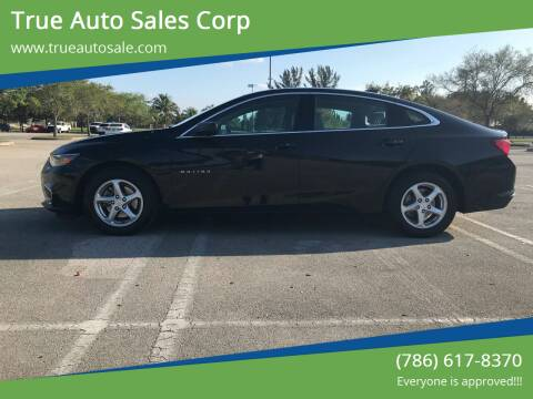 2018 Chevrolet Malibu for sale at True Auto Sales Corp in Miami FL