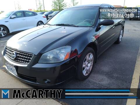 2006 Nissan Altima for sale at Mr. KC Cars - McCarthy Hyundai in Blue Springs MO