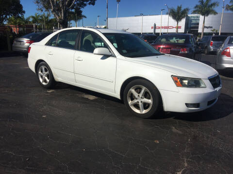 2007 Hyundai Sonata for sale at CAR-RIGHT AUTO SALES INC in Naples FL
