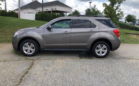 2012 Chevrolet Equinox for sale at Bill Henderson Auto Group Inc in Statesville NC