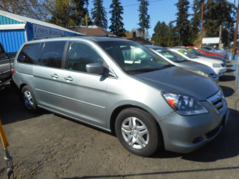 2007 Honda Odyssey for sale at Lino's Autos Inc in Vancouver WA