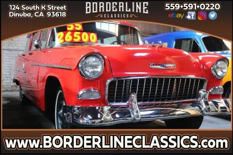 1955 Chevrolet 210 for sale at Borderline Classics in Dinuba CA
