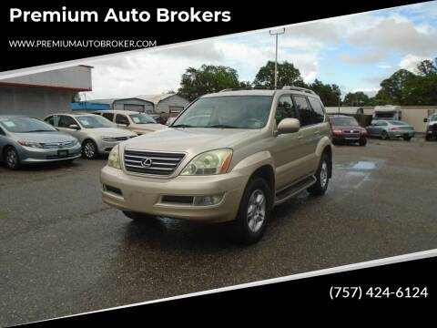 2006 Lexus GX 470 for sale at Premium Auto Brokers in Virginia Beach VA