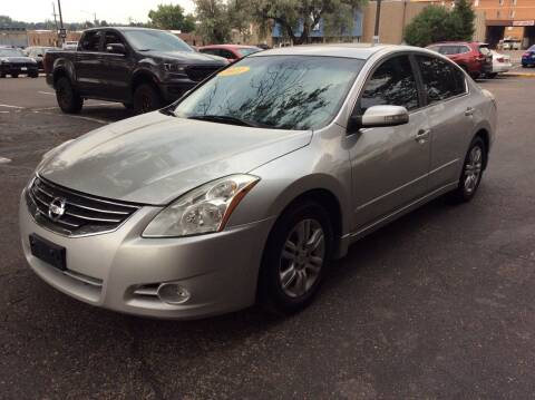 2011 Nissan Altima for sale at AROUND THE WORLD AUTO SALES in Denver CO