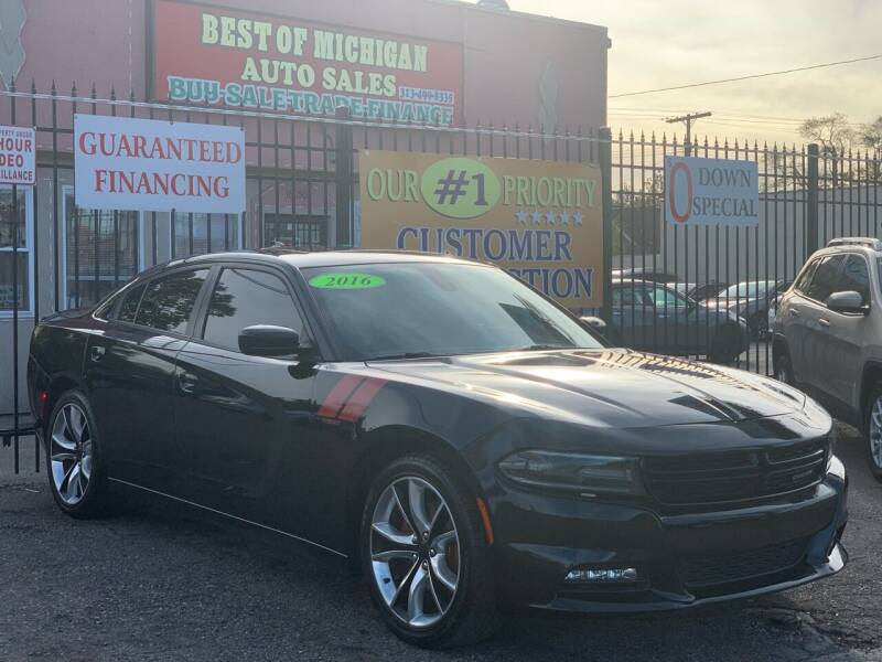 2016 Dodge Charger for sale at Best of Michigan Auto Sales in Detroit MI