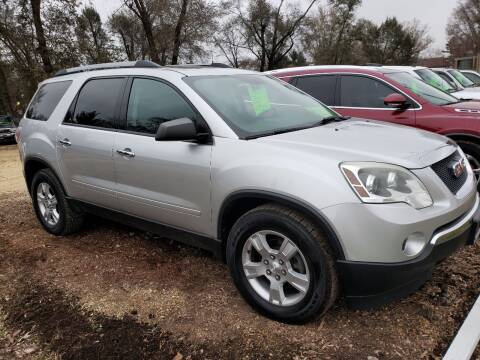2011 GMC Acadia for sale at Northwoods Auto & Truck Sales in Machesney Park IL
