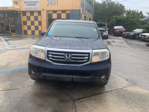 2013 Honda Pilot for sale at Dulux Auto Sales Inc & Car Rental in Hollywood FL
