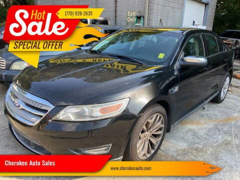 2012 Ford Taurus for sale at Cherokee Auto Sales in Acworth GA