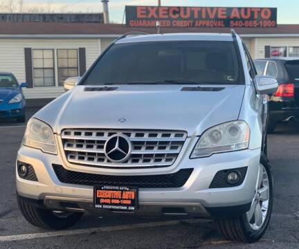 2009 Mercedes-Benz M-Class for sale at Executive Auto in Winchester VA