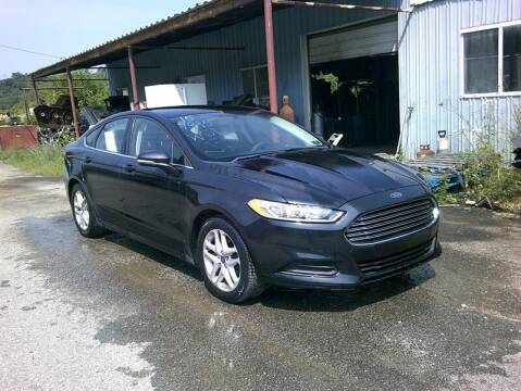2015 Ford Fusion for sale at MICHAEL J'S AUTO SALES in Cleves OH