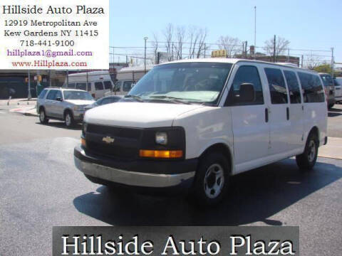 2004 Chevrolet Express Passenger for sale at Hillside Auto Plaza in Kew Gardens NY