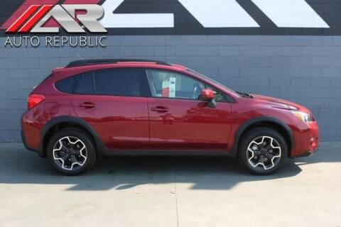 2014 Subaru XV Crosstrek for sale at Auto Republic Fullerton in Fullerton CA
