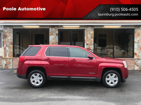 2014 GMC Terrain for sale at Poole Automotive in Laurinburg NC
