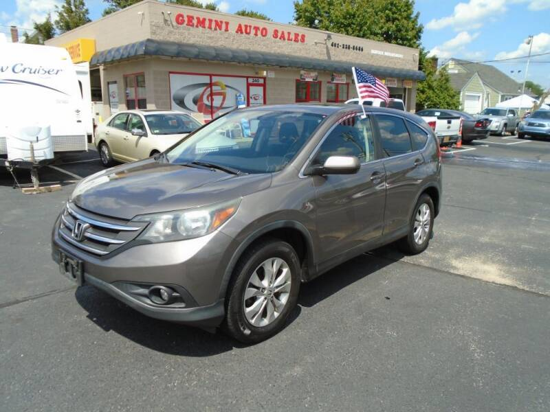 2012 Honda CR-V for sale at Gemini Auto Sales in Providence RI