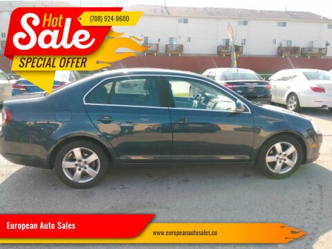 2008 Volkswagen Jetta for sale at European Auto Sales in Bridgeview IL