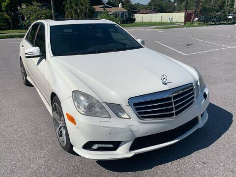 2010 Mercedes-Benz E-Class for sale at Consumer Auto Credit in Tampa FL