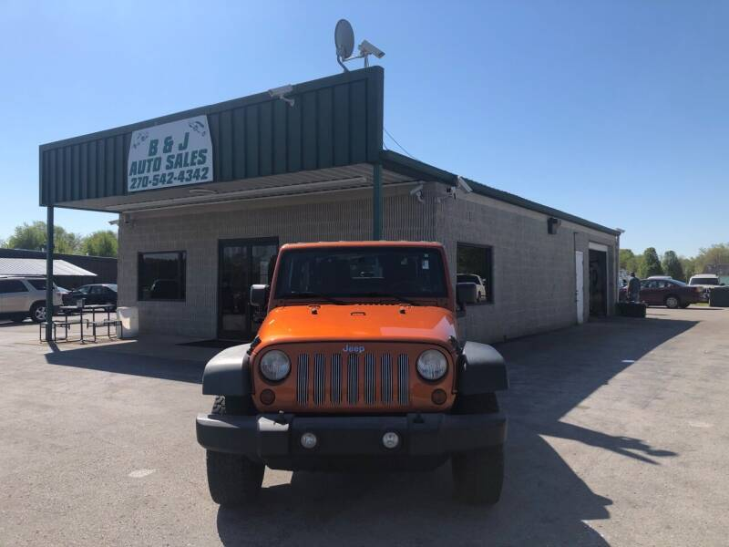 2011 Jeep Wrangler for sale at B & J Auto Sales in Auburn KY