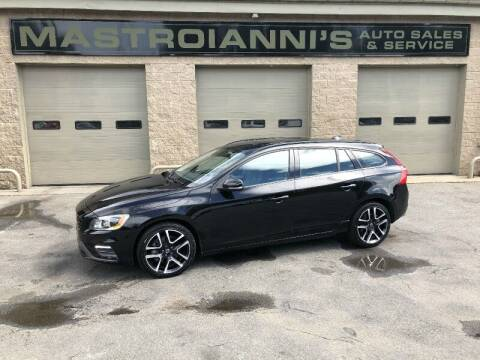 2018 Volvo V60 for sale at Mastroianni Auto Sales in Palmer MA