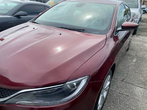 2015 Chrysler 200 for sale at America Auto Wholesale Inc in Miami FL