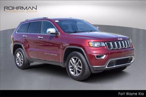 2017 Jeep Grand Cherokee for sale at BOB ROHRMAN FORT WAYNE TOYOTA in Fort Wayne IN