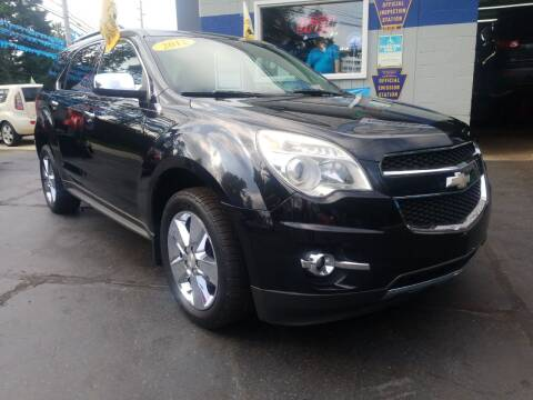 2012 Chevrolet Equinox for sale at Fleetwing Auto Sales in Erie PA