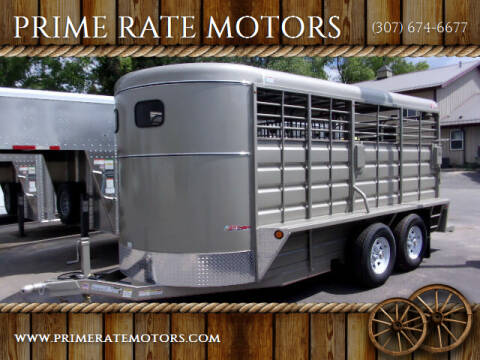 2020 GR 16FT STOCK TRAILER for sale at PRIME RATE MOTORS in Sheridan WY