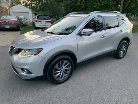 2016 Nissan Rogue for sale at Via Roma Auto Sales in Columbus OH