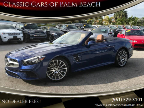 2020 Mercedes-Benz SL-Class for sale at Classic Cars of Palm Beach in Jupiter FL