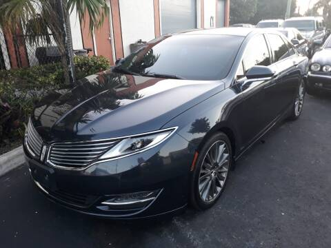 2013 Lincoln MKZ for sale at LAND & SEA BROKERS INC in Deerfield FL