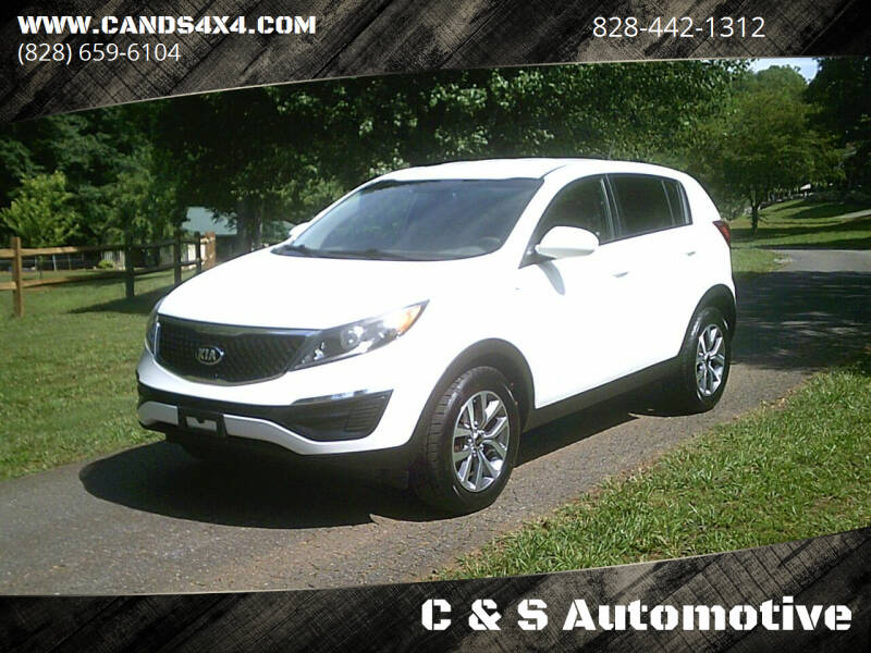 2015 Kia Sportage for sale at C & S Automotive in Nebo NC