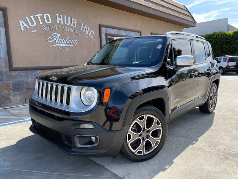 2015 Jeep Renegade for sale at Auto Hub, Inc. in Anaheim CA