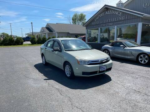 2010 Ford Focus for sale at Empire Alliance Inc. in West Coxsackie NY