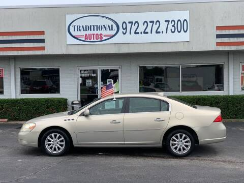 2009 Buick Lucerne for sale at Traditional Autos in Dallas TX