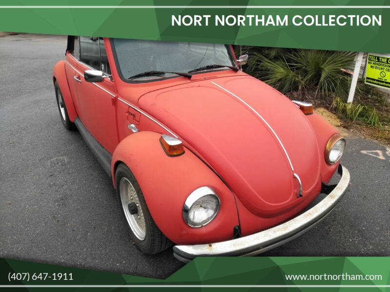1973 Volkswagen Beetle Convertible for sale at Nort Northam Collection in Winter Park FL