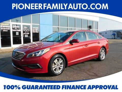 2016 Hyundai Sonata for sale at Pioneer Family auto in Marietta OH