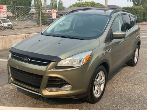 2013 Ford Escape for sale at Washington Auto Sales in Tacoma WA