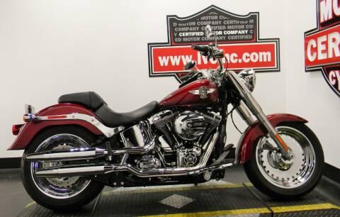 2016 Harley-Davidson FAT BOY for sale at Certified Motor Company in Las Vegas NV