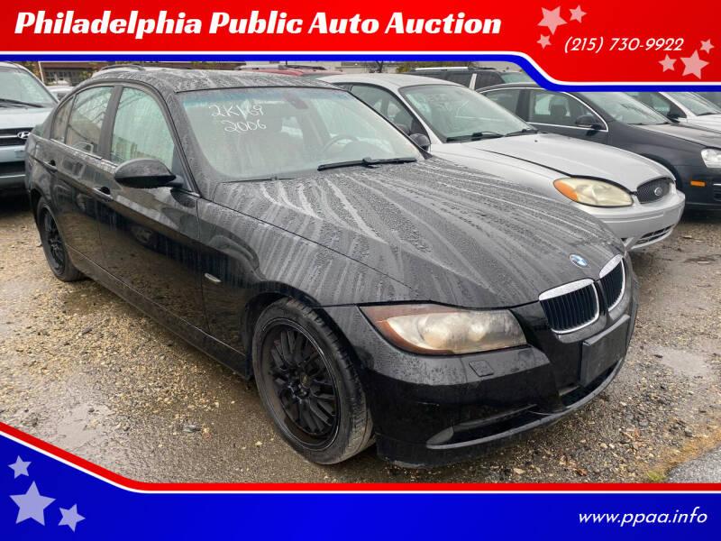 2006 BMW 3 Series for sale at Philadelphia Public Auto Auction in Philadelphia PA