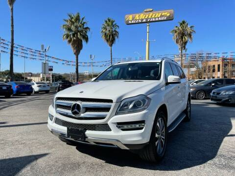 2014 Mercedes-Benz GL-Class for sale at A MOTORS SALES AND FINANCE - 10110 West Loop 1604 N in San Antonio TX