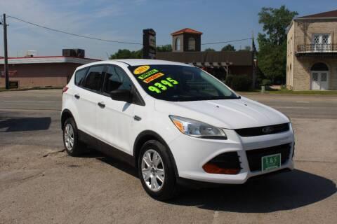 2013 Ford Escape for sale at E & S Auto Sales in Crest Hill IL