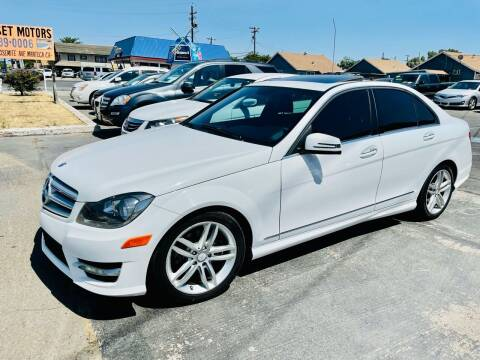 2013 Mercedes-Benz C-Class for sale at Sunset Motors in Manteca CA