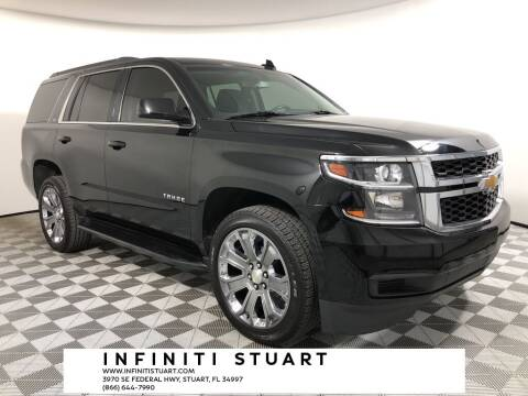 2016 Chevrolet Tahoe for sale at Infiniti Stuart in Stuart FL